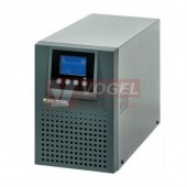 ITYS 1000VA/800W 230V 50Hz ON-LINE s dvojitou konverzí (VFI), LCD,  USB, RS232, Tower