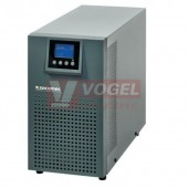 ITYS 2000VA/1600W 230V 50Hz ON-LINE s dvojitou konverzí (VFI), LCD,  USB, RS232, Tower
