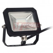 Svítidlo 1x  10W LED reflektor s MULTI CHIPS LED, slim 10W/neutral F01-10/4000K, 700 lumen, IP65 (LF1021)